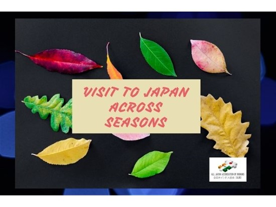 Visit to Japan across seasons