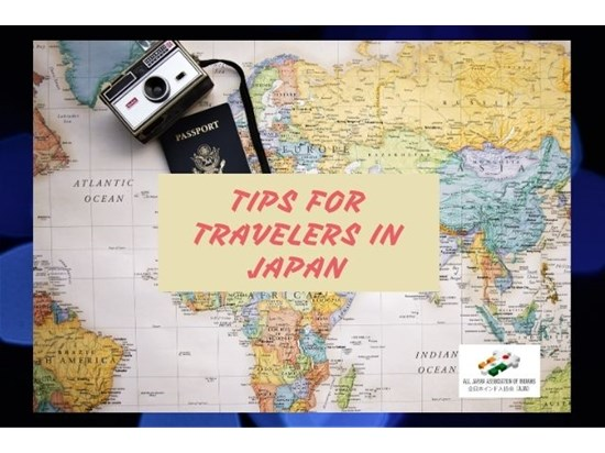 Tips for travelers in Japan