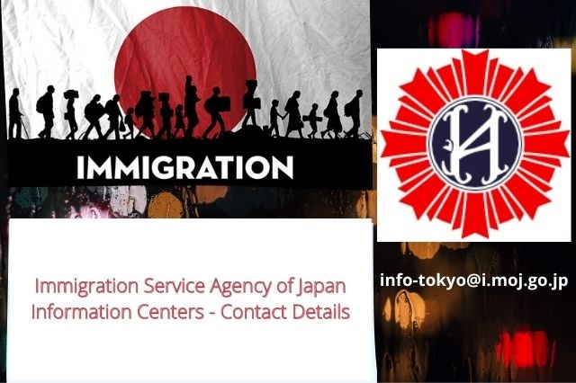 Immigration Service Agency of Japan - Information Centers - Contact Details